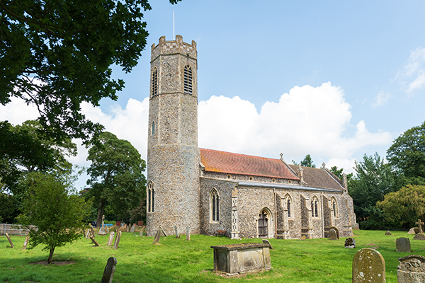 Photograph of Rollesby village church