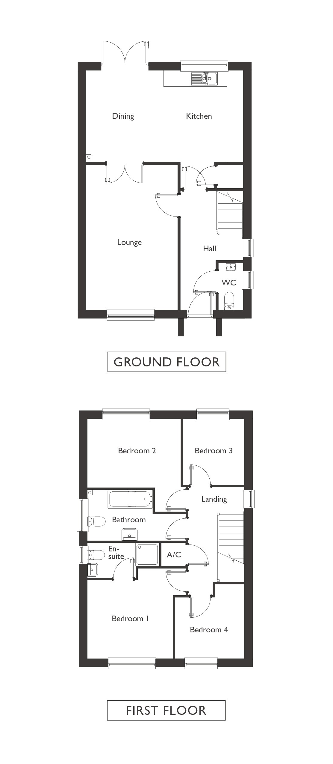 Valley View - Plot 3 - Ellingham - Floor Plans