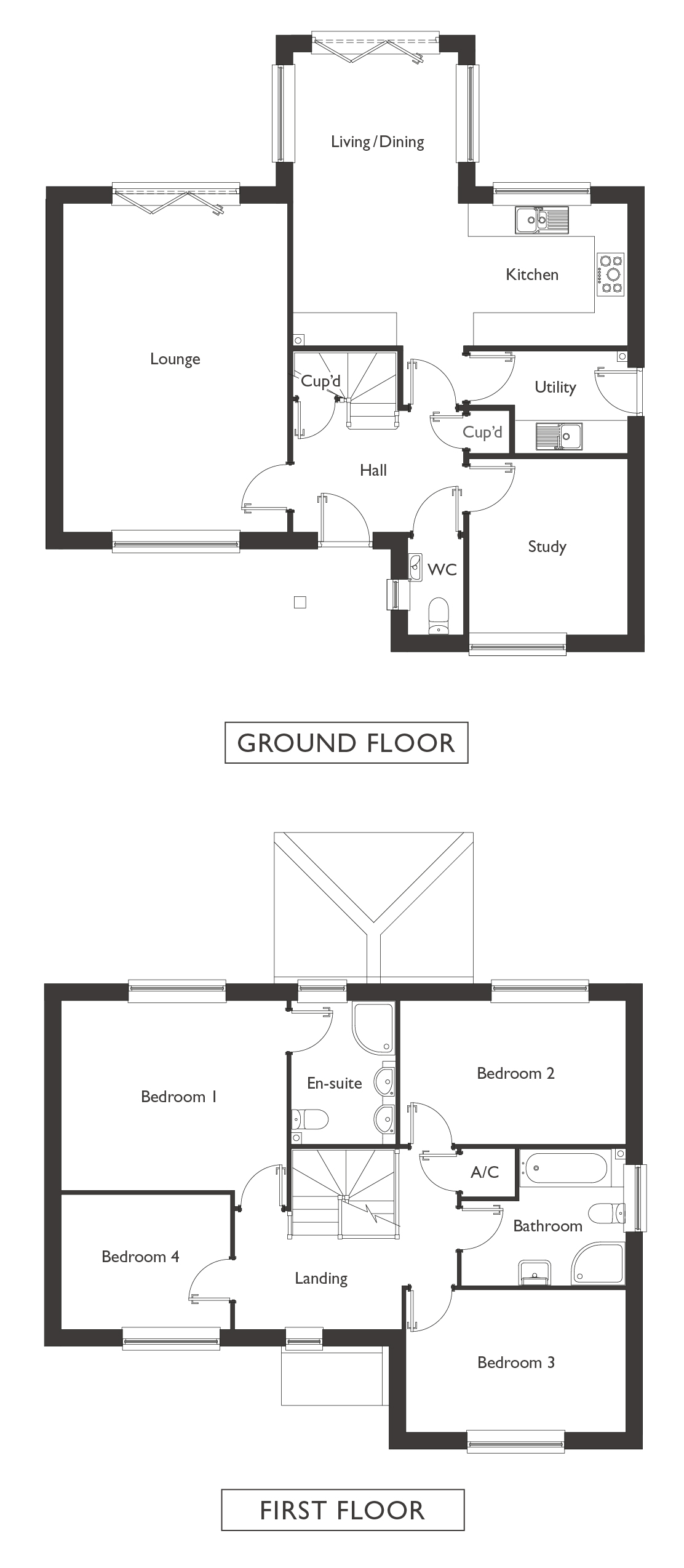 Valley View - Plot 7 - Wrentham - Floor Plans