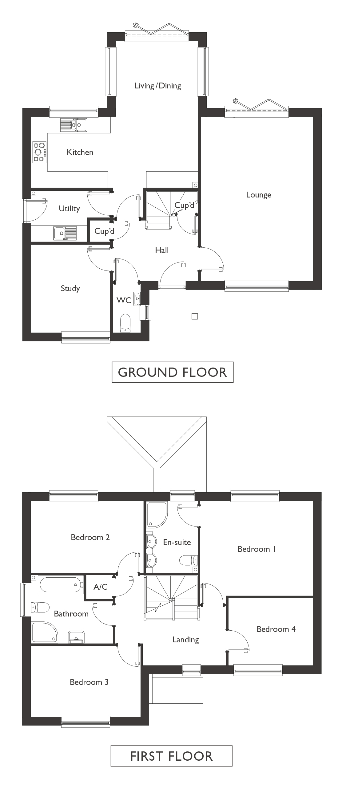 Valley View - Plot 9 - Wrentham - Floor Plans